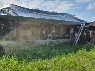 집중호우로 인한 피해 지역 복구활동