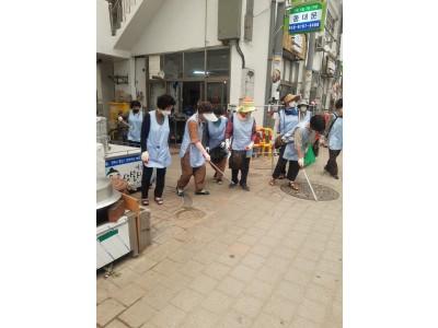 예천읍수지사랑봉사회 클린예천만들기(환경정화) 활동